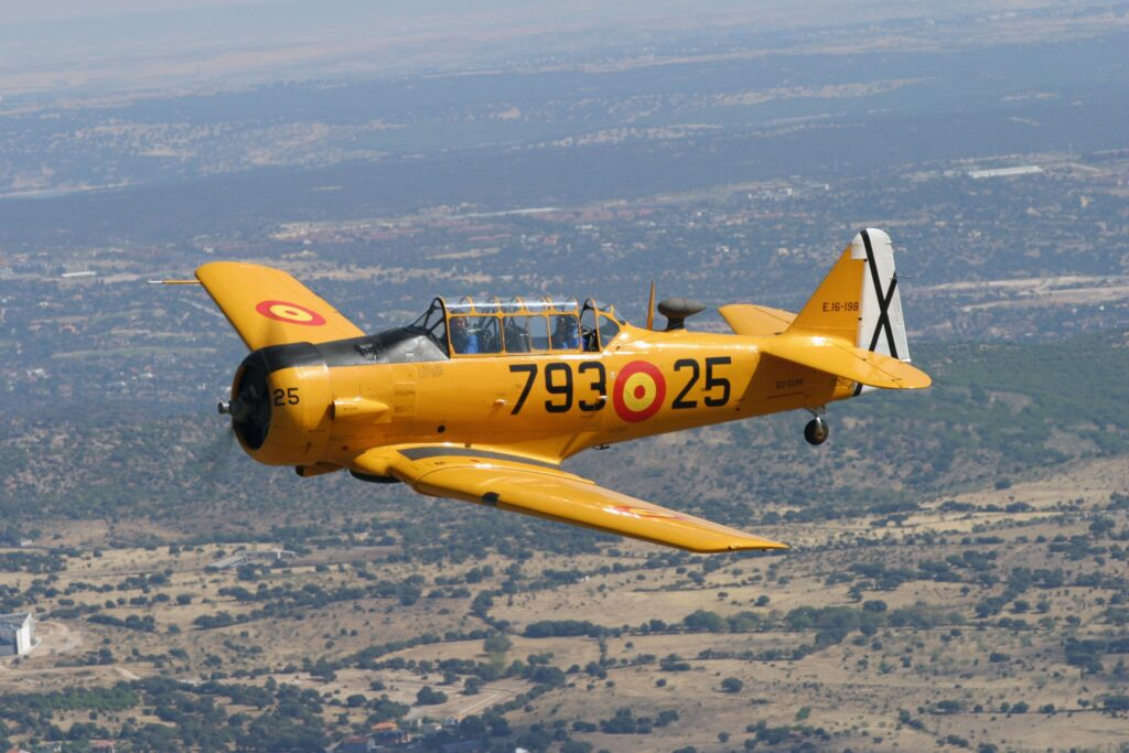 North American T-6 TEXAN DUM – 1938