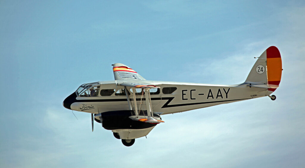 de Havilland DH89 Dragon Rapide